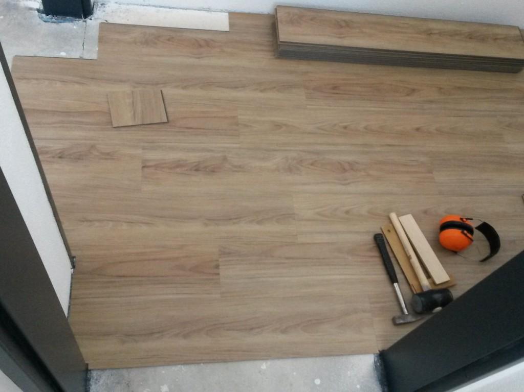 verlegung designbelag klick vinyl steffen. Black Bedroom Furniture Sets. Home Design Ideas